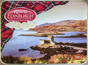 Scotland Cookie Tin